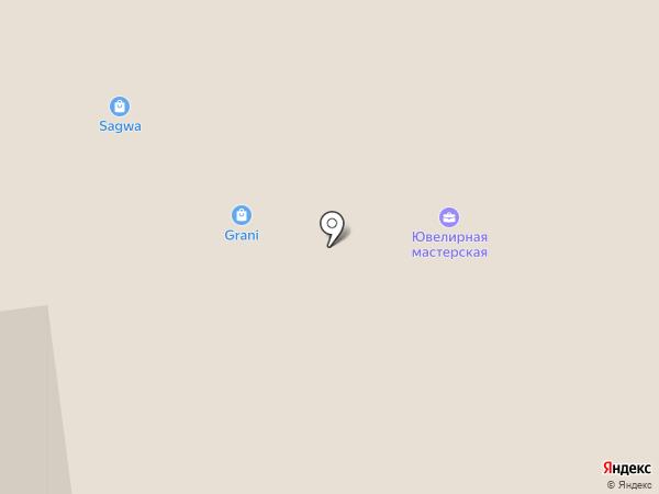 Три пекаря на карте Новосибирска