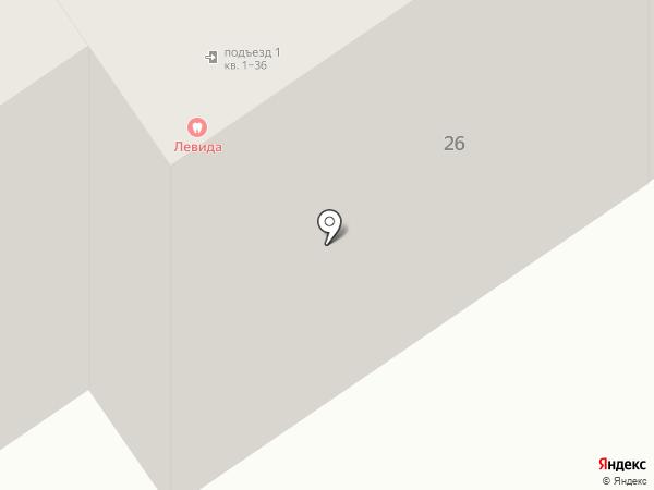 Левида на карте Новосибирска