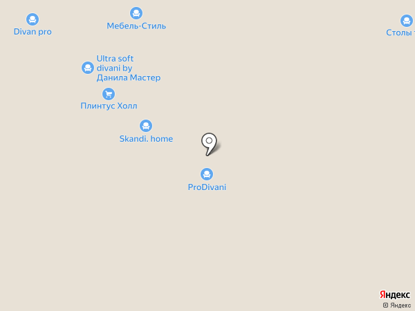 Альфа-Дизайн на карте Новосибирска