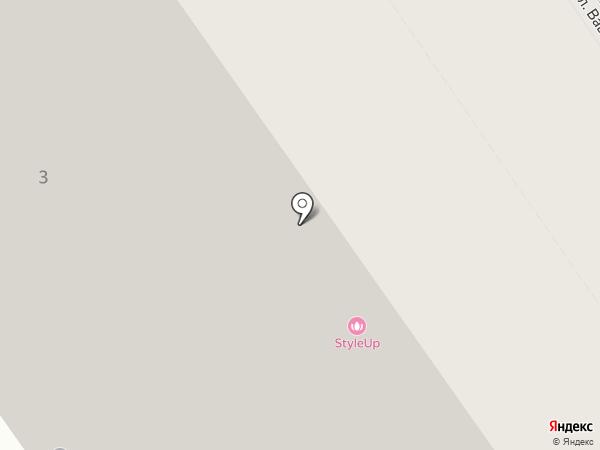 Октавия на карте Новосибирска