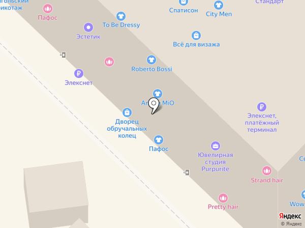 Лав нейлс на карте Новосибирска