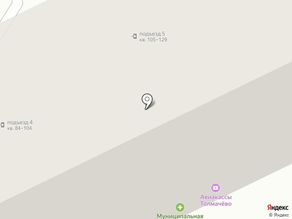 СВЕТ ЗДЕСЬ на карте Новосибирска