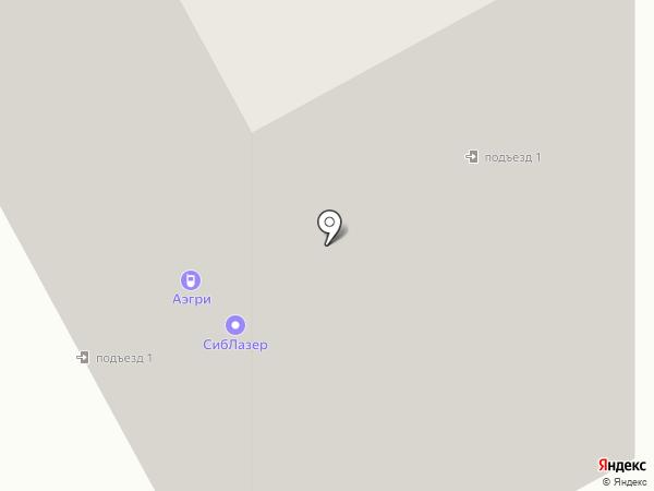 Дар на карте Новосибирска