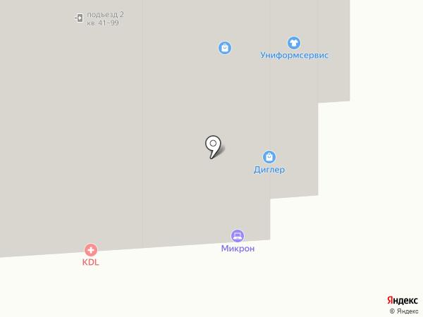 Здоровей-Ка! на карте Новосибирска