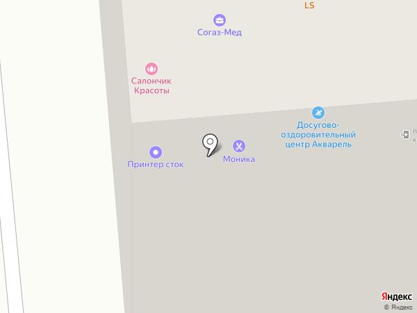 Леля на карте Новосибирска