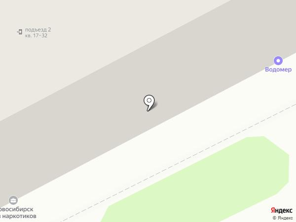 МХК Прогресс на карте Новосибирска