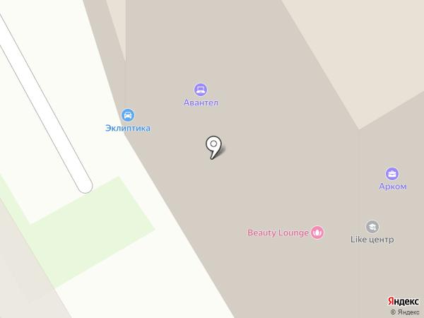Атриум на карте Новосибирска