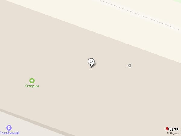 Золотой стиль на карте Новосибирска