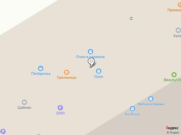 Здравица на карте Новосибирска