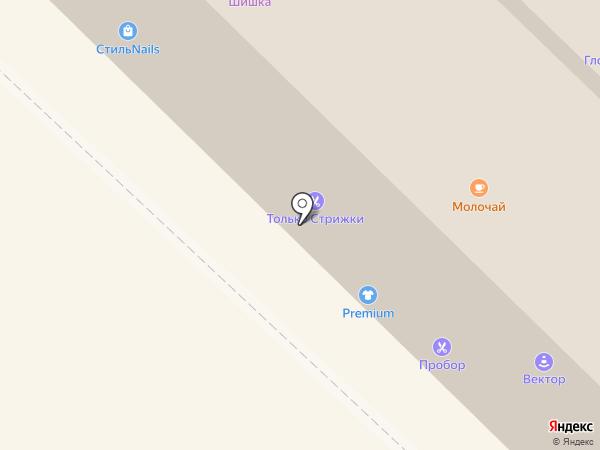 Крутон-Батон на карте Новосибирска