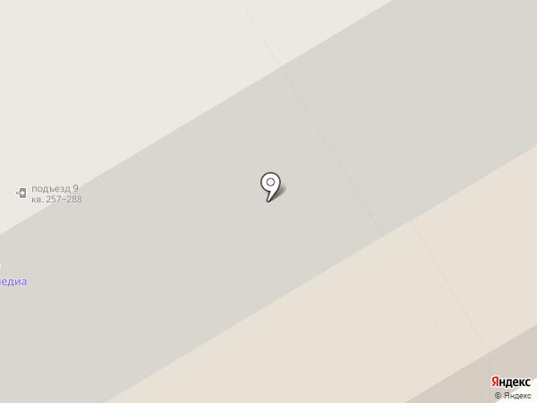 Фэрри на карте Новосибирска