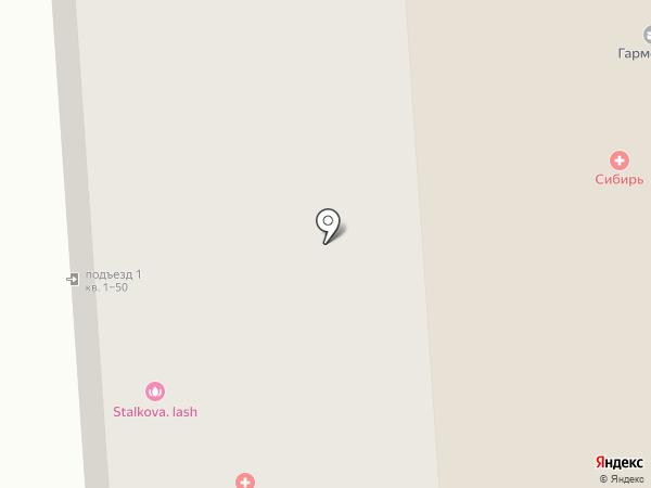 Багетная мастерская на карте Новосибирска