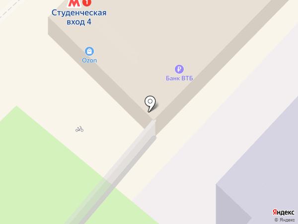 Новосибирский Государственный Академический Театр Оперы и Балета на карте Новосибирска