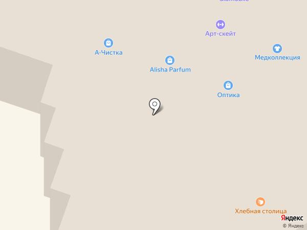 Милкград на карте Новосибирска