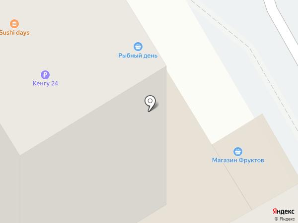 Почтовое отделение на карте Новосибирска