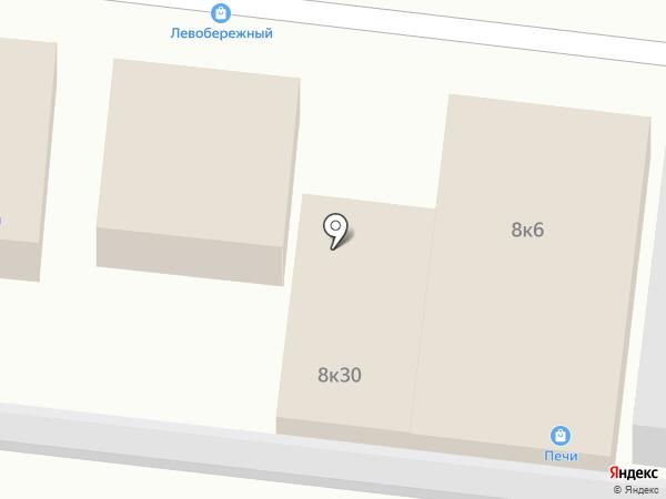 Кудо Стар на карте Новосибирска
