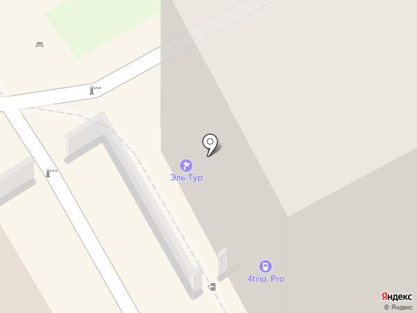 4trip.pro на карте Новосибирска