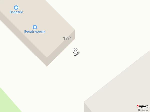 Водолей на карте Красного Яра