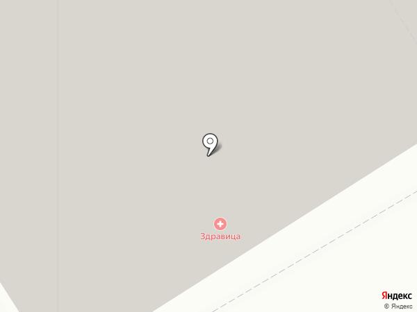 Дом на карте Новосибирска