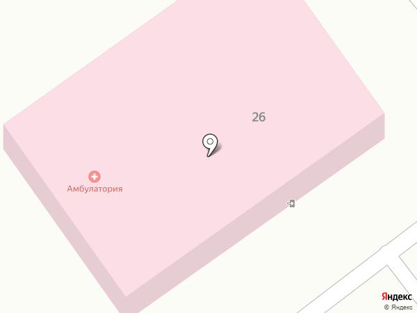 Краснояровская врачебная амбулатория на карте Красного Яра