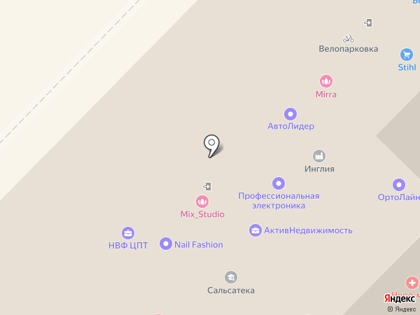 Смайл на карте Новосибирска