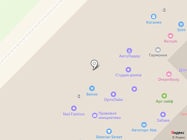 СибАльянс на карте Новосибирска