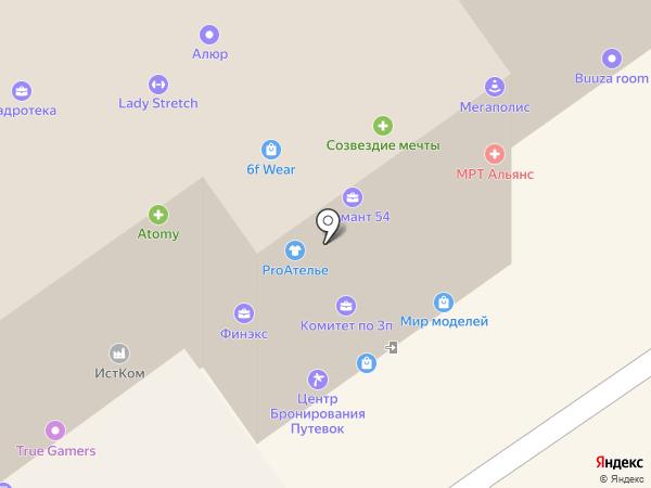 Sketch на карте Новосибирска