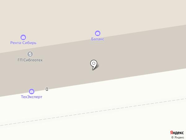 ЕВРАЗИЯ ЭКСПОРТ на карте Новосибирска