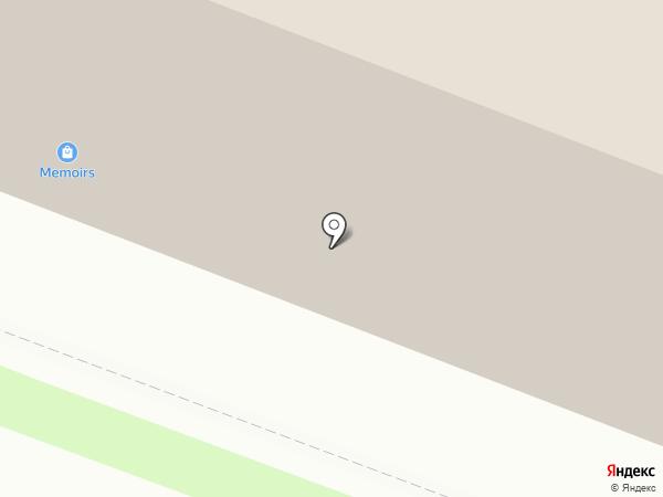 Агат-А на карте Новосибирска