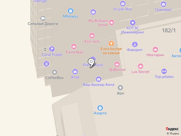 Френдинг Групп на карте Новосибирска