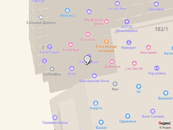 ИнжТраст на карте Новосибирска