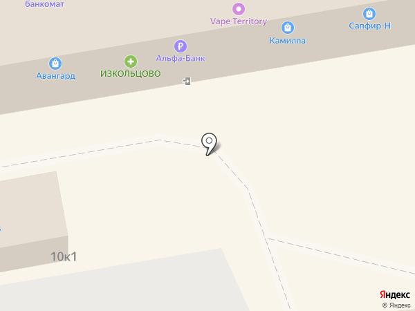 А СЕРВИС на карте Новосибирска