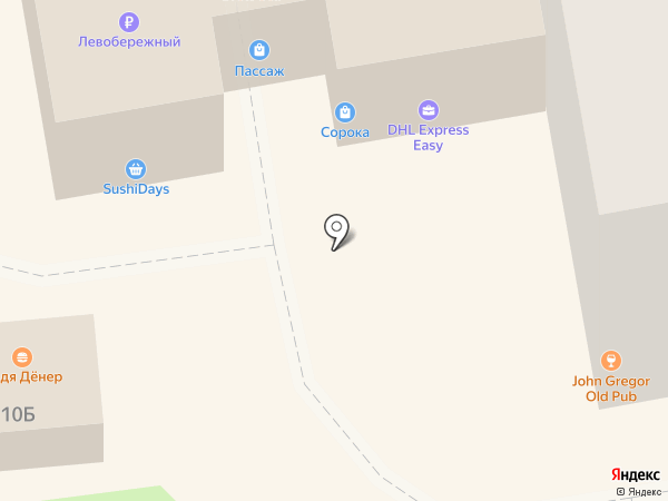 Студия54 на карте Новосибирска