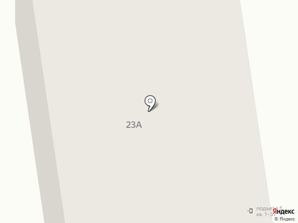Ласточка на карте Новосибирска