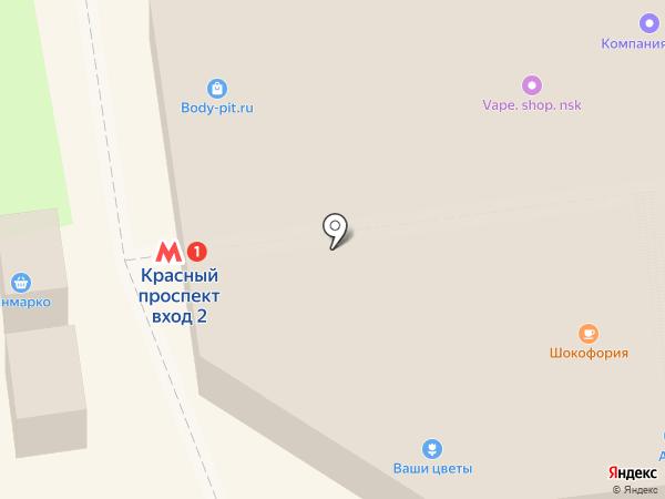 Большая стирка на карте Новосибирска