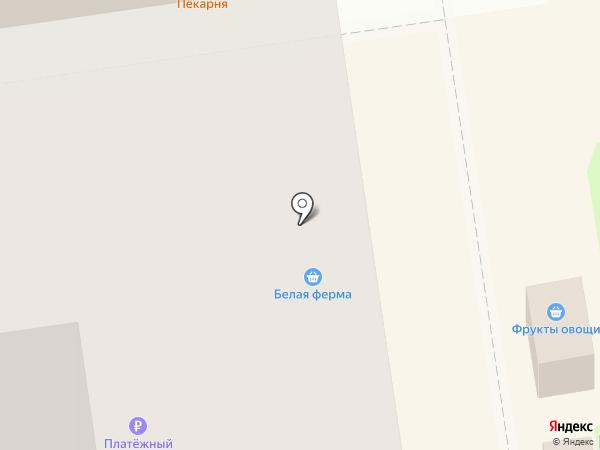 Магазин молочной продукции на карте Новосибирска