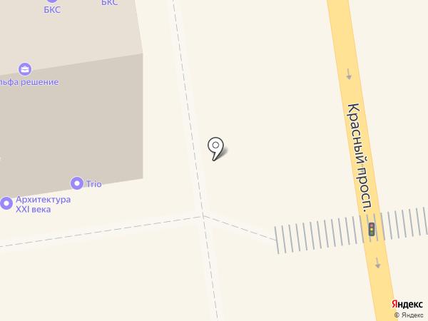 Банкомат, БКС Премьер на карте Новосибирска