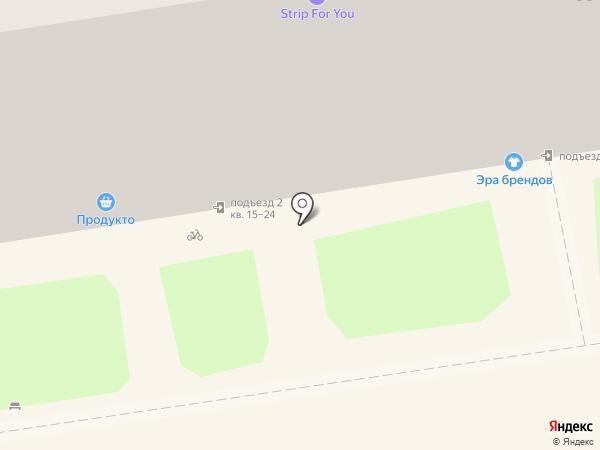 Буй на карте Новосибирска