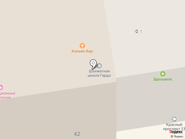 ЛедиС Дисконт на карте Новосибирска