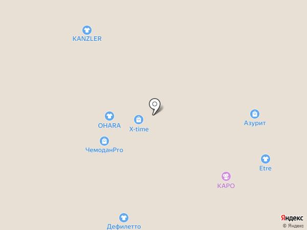 Selff на карте Новосибирска