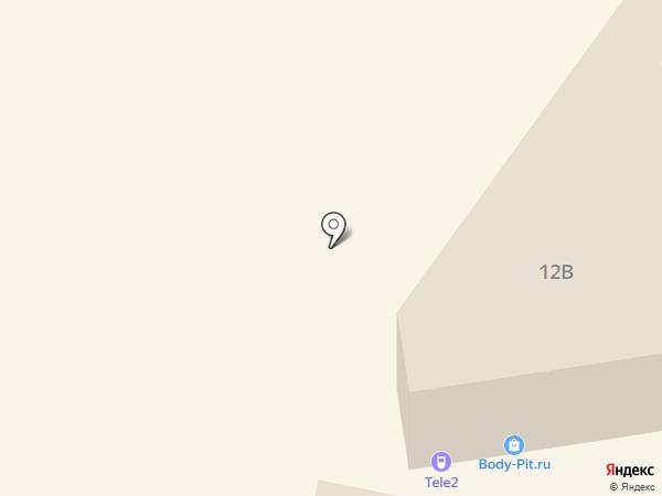 Связной на карте Новосибирска