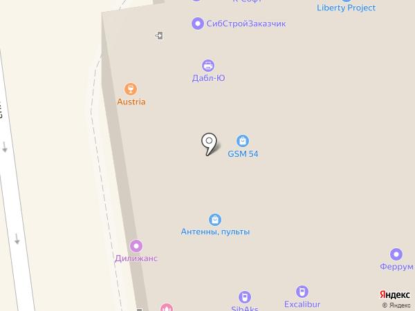 Notik на карте Новосибирска