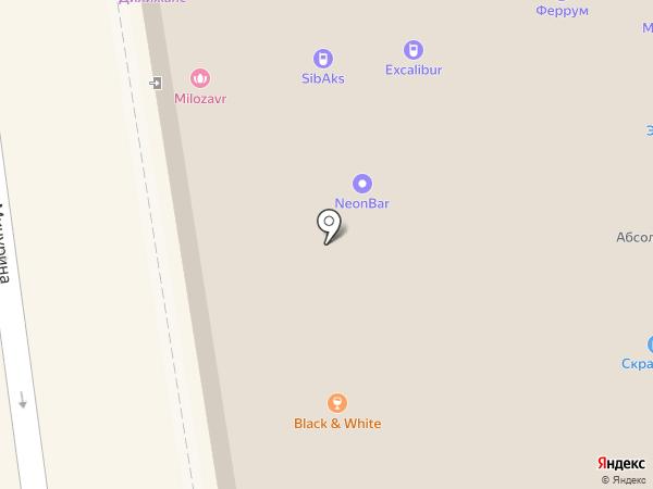 Варя на карте Новосибирска