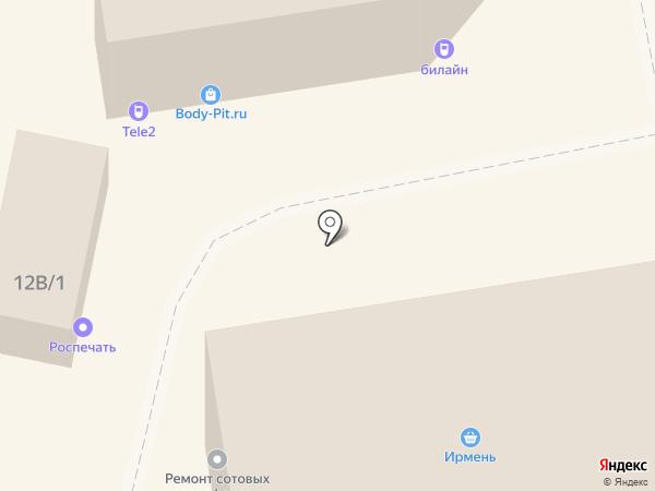 Сибстандарт на карте Новосибирска