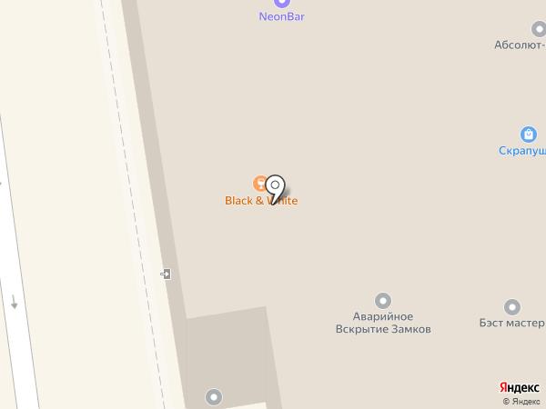 Караван на карте Новосибирска