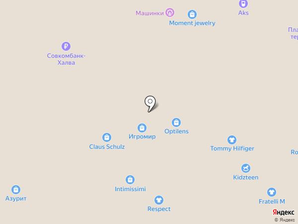 NYX на карте Новосибирска