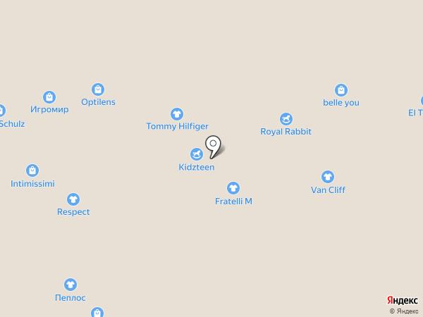 Шалуны на карте Новосибирска