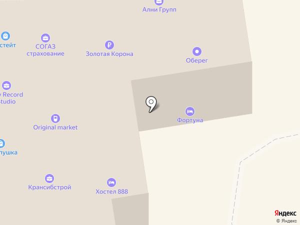 Электродвигатель-сервис на карте Новосибирска