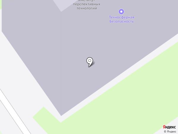 Комбинат питания на карте Новосибирска