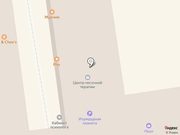 FLAT на карте Новосибирска